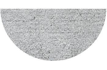GRUND LEX Badteppich silber 50 x 80 cm halbrund