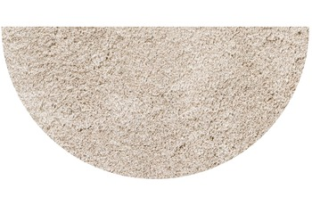 GRUND LEX Badteppich taupe 50 x 80 cm halbrund