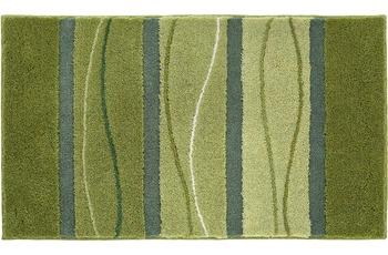 GRUND , Badteppich, ORLY 226 , grün, mit Supersoft Polyacryl, Florhöhe 22 mm
