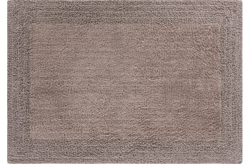 GRUND Badteppich Linea Due PRIMO, taupe 60 x 90 cm