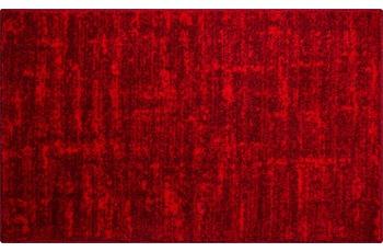GRUND Badteppich Linea Due SAVIO, rubin 60x100 cm