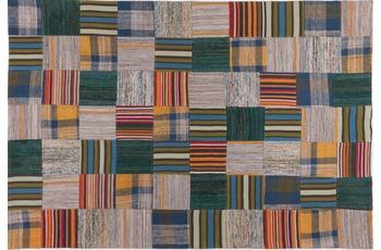 handgewebter Teppich FLASH HOUSE 1607  gemustert