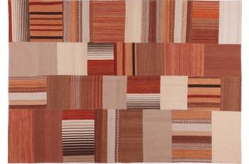 handgewebter Teppich MASH UP 2025 multi gemustert 140 x 200 cm