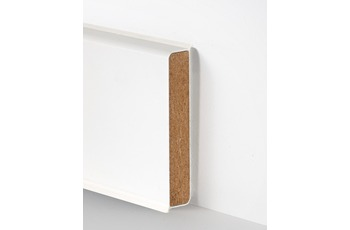 Hometrend Cubu Flex Life 60, 60 X 12,6mm, Weiss, 10*2,5m /  25m, Paketinhalt 2,5 m