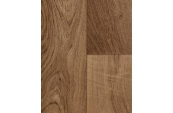 Hometrend CV Vinyl Bodenbelag Auslegware Holzoptik 2-Stab Nussbaum
