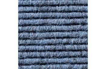 Hometrend Teppichboden Interland 514 Fliesen 50x50 cm Blau, Paketinhalt 0,25 qm