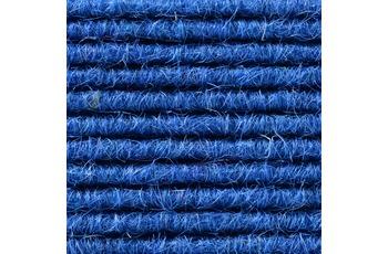 Hometrend Teppichboden Interland 516 Fliesen 50x50 cm Blau, Paketinhalt 0,25 qm