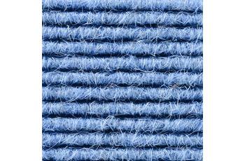 Hometrend Teppichboden Interland 517 Fliesen 50x50 cm Blau, Paketinhalt 0,25 qm