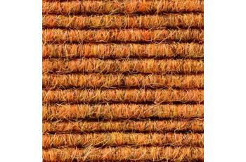 Hometrend Teppichboden Interland 564 Fliesen 50x50 cm Orange, Paketinhalt 0,25 qm