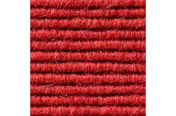 Hometrend Teppichboden Interland 570 Fliesen 50x50 cm Rot, Paketinhalt 0,25 qm