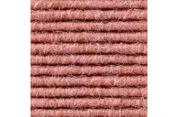 Hometrend Teppichboden Interland 588 Fliesen 50x50 cm Altrosa, Paketinhalt 0,25 qm