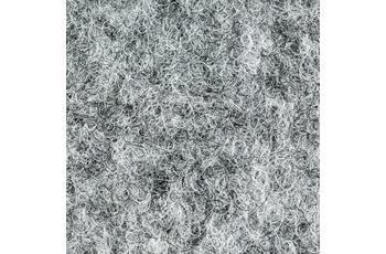 ilima Kunstrasen 200/ 400 cm breit mit Noppen/ nadelflies - Grau