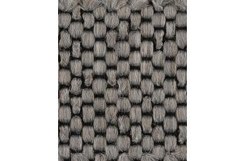 Hometrend Teppichboden Flachgewebe grau 400 cm breit