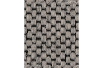 Hometrend Teppichboden Flachgewebe hellgrau 400 cm breit