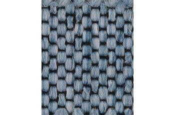 Hometrend Teppichboden Flachgewebe himmelblau 400 cm breit