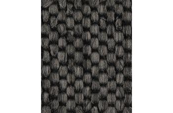 Hometrend Teppichboden Flachgewebe schwarz 400 cm breit