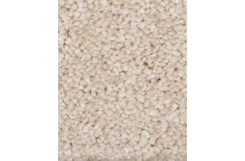 Hometrend Teppichboden Hochflor Velours beige