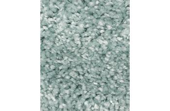 Hometrend Teppichboden Hochflor Velours mintgrün