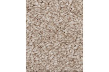 Hometrend Teppichboden Hochflor Velours sand