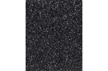 Hometrend Teppichboden Hochflor Velours schwarz