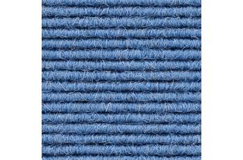 Hometrend Teppichboden Interland 626 Fliesen 50x50 cm Blau, Paketinhalt 0,25 qm