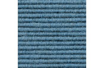 Hometrend Teppichboden Interland 627 Fliesen 50x50 cm Hellblau, Paketinhalt 0,25 qm