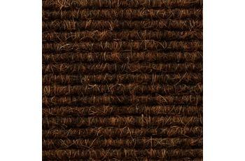 Tretford Teppichboden Interland Eco 573 Fliesen 50x50 cm Braun, Paketinhalt 0,25 qm