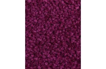 Hometrend Teppichboden Meterware Hochflor Velours Fuchsia