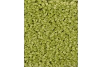 Hometrend Teppichboden Meterware Hochflor Velours Gelbgrün