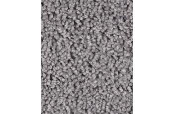 Hometrend Teppichboden Meterware Hochflor Velours Grau