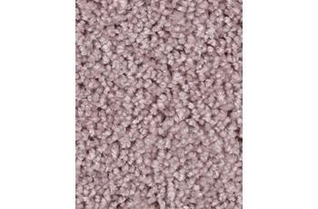 Hometrend Teppichboden Meterware Hochflor Velours Rosa
