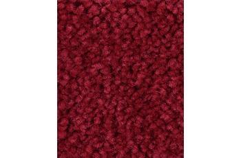 Hometrend Teppichboden Meterware Hochflor Velours Rot