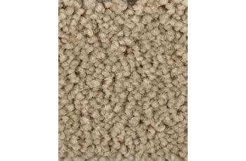 Hometrend Teppichboden Meterware Hochflor Velours Sand/ Beige