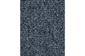 Hometrend Teppichboden Meterware Schlinge Blaugrau