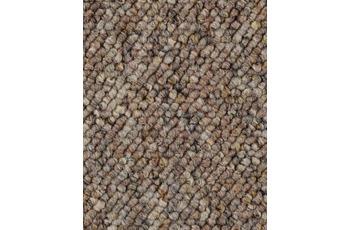 Hometrend Teppichboden Meterware Schlinge Braun