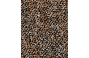 Hometrend Teppichboden Meterware Schlinge Braun meliert