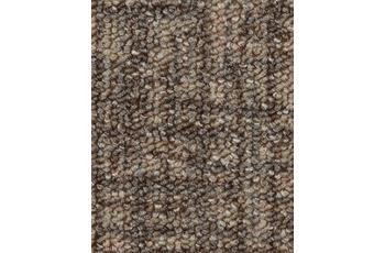 Hometrend Teppichboden Meterware Schlinge gemustert Braun