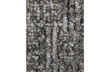 Hometrend Teppichboden Meterware Schlinge gemustert Dunkelgrau