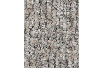 Hometrend Teppichboden Meterware Schlinge gemustert Grau