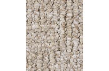 Hometrend Teppichboden Meterware Schlinge gemustert Hellbeige