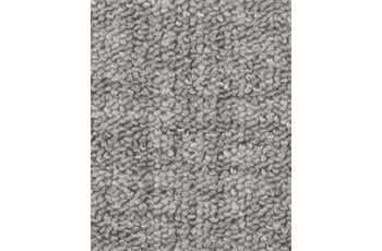 Hometrend Teppichboden Meterware Schlinge gemustert Hellgrau