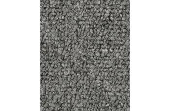 Hometrend Teppichboden Meterware Schlinge Grau