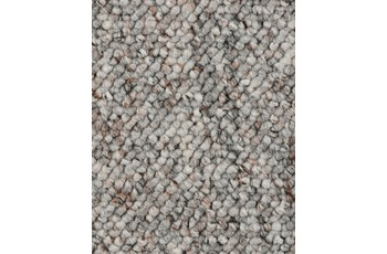 Hometrend Teppichboden Meterware Schlinge Hellgrau
