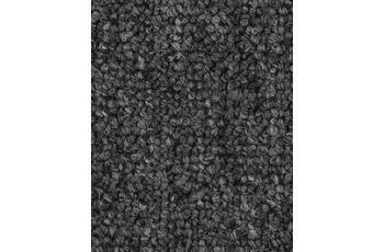 Hometrend Teppichboden Meterware Schlinge Schiefergrau