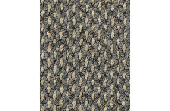 Hometrend Teppichboden Meterware Schlinge strukturiert grau/ beige