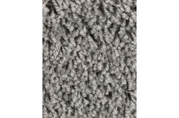 Hometrend Teppichboden Meterware Shaggy Hochflor Grau