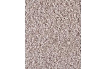 Hometrend Teppichboden Meterware Velours Blassrosa/ Beige