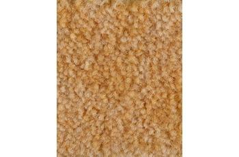 Hometrend Teppichboden Meterware Velours meliert Maisgelb