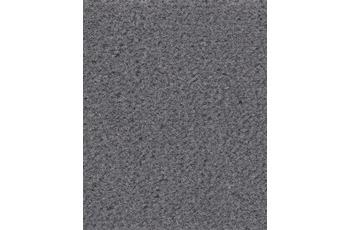 Hometrend Teppichboden Meterware Velours uni Dunkelgrau