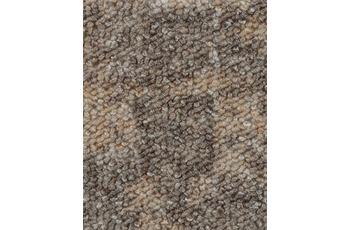 Hometrend Teppichboden Schlinge bedruckt beige/ grau